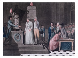Mayor Conducting a Republican Marriage During the Period of the French Revolution, C.1795 Giclee Print by  Legrand