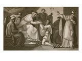 Submission of John, Engraved by Delatre Giclee Print by Henry Tresham