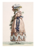 Lady's Summer Walking Gown, Engraved by Dupin, Plate No.192 Giclee Print by Francois Louis Joseph Watteau