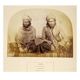 Kumbos, Hindoos, Googaira, Mooltan, from 'The People of India', by J. Forbes Watson, Published 1868 Giclee Print by  English Photographer
