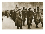 Mutiny: Berlin, C.1918/19 (Sepia Photo) Giclee Print by  German photographer