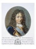 Francois-Henri De Montmorency-Bouteville Giclee Print by Antoine Louis Francois Sergent-marceau
