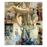 The Finding of Moses by Pharaoh's Daughter, 1904 (Oil on Canvas) (Detail of 15118) Giclee Print by Sir Lawrence Alma-Tadema