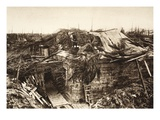 After Warfare Came to a Standstill (B/W Photo) Giclee Print by  German photographer
