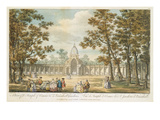 A View of the Temple of Comus at Vauxhall Gardens, Engraved by Muller, Re-Published 1794 Giclee Print by  Canaleti
