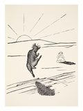 Old Man Kangaroo When He Was the Different Animal with Four Short Legs Giclee Print by Rudyard Kipling