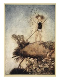 One Aloof Stand Sentinel, Illustration from &#39;Midsummer Nights Dream&#39; by William Shakespeare, 1908 Giclee Print by Tawaraya Sotatsu