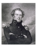 Major General Alexander Macomb (1782-1842), Engraved by James Barton Longacre (1794-1869) Giclee Print by Thomas Sully