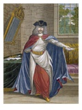 French Merchant, Plate 61 Reproduction proc&#233;d&#233; gicl&#233;e par Jean Baptiste Vanmour