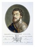 Philippe II Auguste Giclee Print by Antoine Louis Francois Sergent-marceau