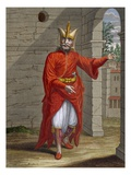 A Janissary, Plate 32 Giclee Print by Jean Baptiste Vanmour