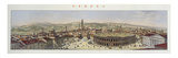View of Verona, Engraved by L. Cherbuin (Colour Engraving) (See 130088) Giclee Print by P. Majocchi