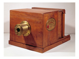 Camera Used by Louis-Jacques Daguerre (1787-1851) (Wood and Metal) Giclee Print by  French