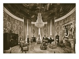 Grand Salon, Designed by Jacques-Emile Ruhlmann, 1925 (B/W Photo) Giclee Print by  French Photographer