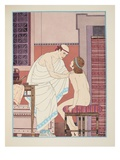 Oral Examination, Illustration from 'The Works of Hippocrates', 1934 (Colour Litho) Giclee Print by Joseph Kuhn-Regnier
