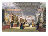 View of the India Section of the Great Exhibition of 1851, from Dickinson's Comprehensive Pictures Giclee Print by  English