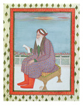 An Arab Doctor of Theology (Gouache on Paper) Giclee Print by  Persian