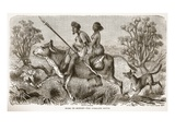 Going to Market- the Overland Route Giclee Print by  English