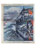 The Russian Mutiny in the Black Sea and the Bombardment of Sebastopol Giclee Print by  French