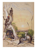 Frontispiece to 'south Australia', Printed 1846 (Coloured Engraving) Giclee Print by George French Angas