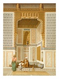 Bordeyny Mosque, Cairo (Colour Litho) Giclee Print by  French