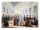 Winter Fashions from Nov. 1834 to April 1835, Pub. by B Read (Litho) Giclee Print by  English