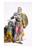 Alessandro Farnese (1546-92) Duke of Parma Giclee Print by Pierre Duflos