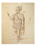 Costume Design for the Role of &#39;Le Commandeur&#39; in the 1847 Production of &#39;Don Juan&#39; Giclee Print by Achille Deveria