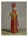 The Selektir Agassi, Plate 7 Giclee Print by Jean Baptiste Vanmour