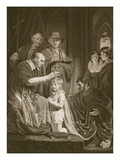 The Coronation of Henry Vi, Engraved by T. Holloway Giclee Print by John Opie