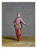 A Turkish Boy, Plate 44 Gicl&#233;e-Druck von Jean Baptiste Vanmour