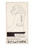 The Wise Baviaan the Dog-Headed Baboon, Who Is Quite the Wisest Animal in All South Africa Giclee Print by Rudyard Kipling