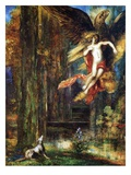 Ganymede, 1886 (W/C and Gouache on Paper) Giclee Print by Gustave Moreau