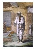 A Cobbler, from 'Les Hindous Ou La Description De Leurs Moeurs Coutumes Et Ceremonies', Pub 1808-12 Giclee Print by Franz Balthazar Solvyns