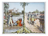 In Neuruppin and Rheinsberg (Colour Litho) Giclee Print by Carl Rochling