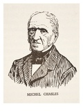 Michel Chasles (Litho) Giclee Print by  French