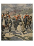 Arrest of the Assassins of Mores, Illustration from 'Le Petit Journal: Supplement Illustre', 1898 Giclee Print by  French