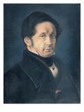 Jean-Joseph Pasteur (1791-1865) 1842 (Pastel on Paper) Giclee Print by Louis Pasteur