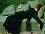 After the Ball (Oil on Canvas) Giclee Print by Ramon Casas i Carbo