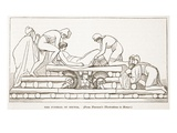 The Funeral of Hector (Litho) Giclee Print by  English