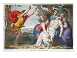 The Death of Eurydice, Book X, Illustration from Ovid's Metamorphoses, Florence, 1832 Giclee Print by Luigi Ademollo