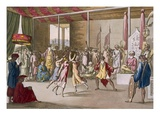 Cochin Chinese Drama, from 'Costume Dei...' by Giulio Ferrario, C.1820S-30S (Coloured Engraving) Giclee Print by Angelo Monticelli