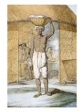 Breadmaker, from 'The Hindus, or the Description of their Manners, Costumes and Ceremonies' Giclee Print by Franz Balthazar Solvyns