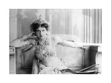 Mata Hari (1876-1917) 1905 (B/W Photo) Premium Giclee Print by  Reutlinger Studio