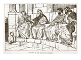 Timoleon in the Syracusan Assembly (Litho) Giclee Print by  English