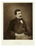 Jules Francois Felix Husson, 'Champfleury' (1821-89), from 'Galerie Contemporaine', C.1874-78 Giclee Print by  Nadar