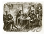 Examining a Deserter Giclee Print by  French
