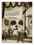 World War I Veterans Register for the Sa, from 'Geschichte Der Sa' by Wilhelm Rehm Giclee Print by  German photographer