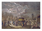 The Exchange on 26 December, 1795, of Madame Royale at Basle for 6 French Prisoners Captured Giclee Print by  French