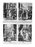 Scenes from the Life of Saint Norbert, Founder of the Premonstratensian Order of Canons Regular Giclee Print by  French